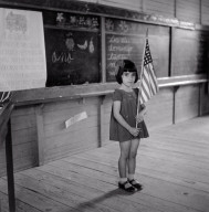 Pledging Allegiance to the Flag in a School in Puerto Rico