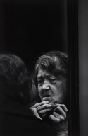 Untitled (old woman at mirror)