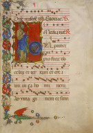 Page from an Antiphonal