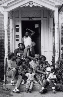 Family on Porch, Frogtown