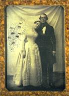 Eduard Biewend and his Bride, Feodore