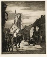 The Road to Ypres through Vlamertighe