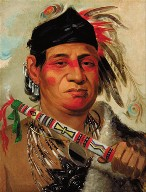 Mah-kée-mee-teuv, Grizzly Bear, Chief of the Tribe