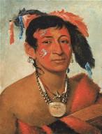 Sha-wá-no, The South, a Noted Warrior