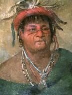 Aúh-ka-nah-paw-wáh, Earth Standing, an Old and Valiant Warrior