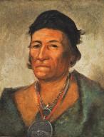 Ko-mán-i-kin, Big Wave, an Old and Distinguished Chief