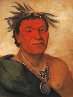 O-ho-páh-sha, Small Whoop, a Distinguished Warrior