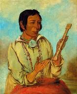 Ma-shée-na, Elk's Horns, a Subchief