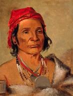 Deep Lake, an Old Chief