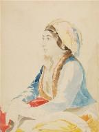 Turkish Girl of Constantinople