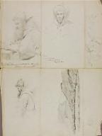 Studies--Landscape and Portrait
