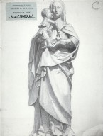 Copie de la Vierge d&#039;couen (XVIe sicle)