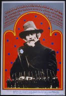 "San Francisco Rock Poster: Family Dog Productions, ""War and Peace,"" Big Brother and the Holding Company; Bukka White; Avalon Ballroom, 8/24-27/67"