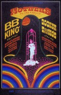 San Francisco Rock Poster: Bill Graham Presents, Mothers of Invention; B.B. King; Fillmore Auditorium, 6/6/68; Winterland, 5/31-6/1/68
