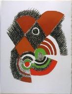 Untitled, pg. 17, in the book Juste present (Paris: La Rose des Vents, 1961)