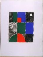 Untitled, pg. 29, in the book Juste present (Paris: La Rose des Vents, 1961)
