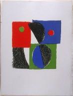 Untitled, pg. 33, in the book Juste present (Paris: La Rose des Vents, 1961)