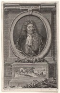 Portrait of La Fontaine (after Hyacinthe Rigaud)