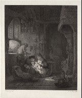 The Holy Family (after Rembrandt)