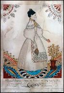 Portrait of delia Varney, July 8, 1837