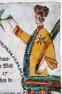 Birth and baptism certificate of Johannes Seybert