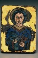 Plaque with a Saint