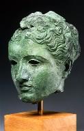 Head of a goddess, perhaps Aphrodite or Artemis