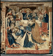 The Last Supper (fragment from the series THE STORY OF THE HOLY SACRAMENT)