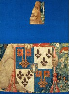 Armorial Shield A, fragment from THE STORY OF PENELOPE AND THE STORY OF