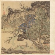 Paintings after Ancient Masters: Scholars in a Garden