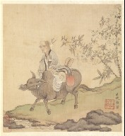 Paintings after Ancient Masters: Lao-tzu Riding an Ox