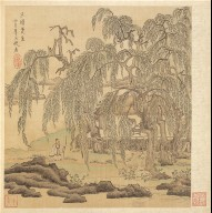 Paintings after Ancient Masters: Mr. Five Willows (Wu-liu), T'ao Yüan-ming