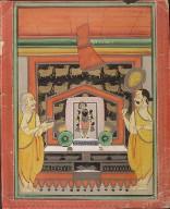 Sri Nathaji on an Altar
