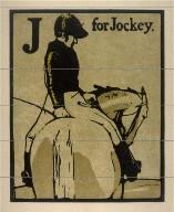 An Alphabet - 26 plates: J for Jockey