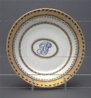 1 of 12 shallow tea bowls (from Chinese export service, 1985.39.1-96)