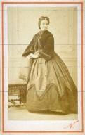 Portrait of a fashionable lady