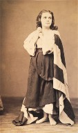 Unidentified portrait of a woman in costume