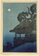 Evening Scene at Ishiyama Temple