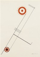 Untitled (Red-Orange Circles)