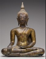 Figure of a Buddha