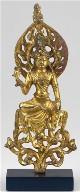 Enthroned Bodhisattva