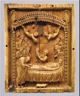 "Icon with the Koimesis (""Falling Asleep"") of the Virgin Mary"
