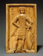 Icon with Saint Demetrios