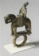 Ring with Equestrian Figure