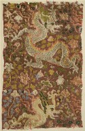 Tapestry with Dragons and Flowers