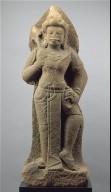 Standing Shiva or temple guardian (dvarapala)
