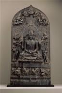 Seated six-armed Shiva as Conquerer of Death (Mrtyunjaya)