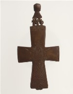 Reliquary Cross with Saint George