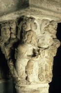 Capital, with the Presentation of Christ in the Temple