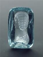 Intaglio with a portrait of the empress Julia Domna